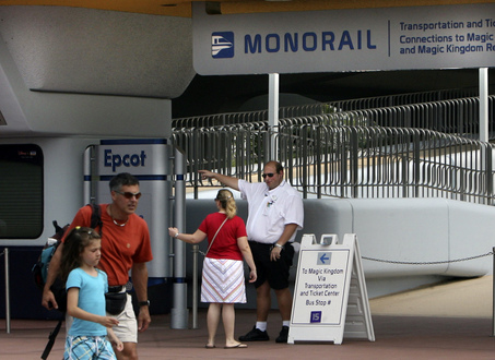 Disney Monorail Crash